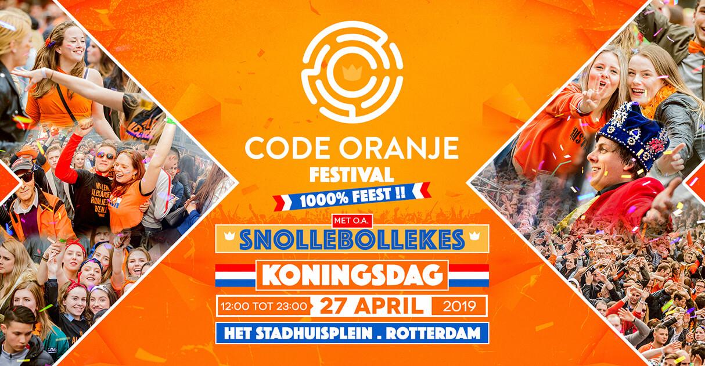 Koningsdag Festival Event 2019 Banner